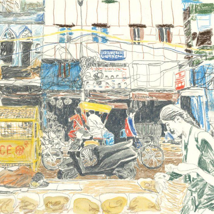 VIAGGIO NELL'INDIA DEL NORD   art book